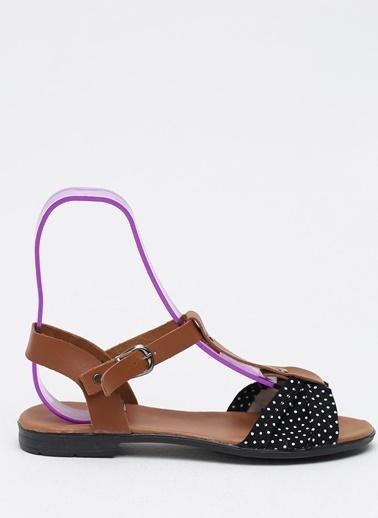 Shoes1441 Sandalet Lacivert
